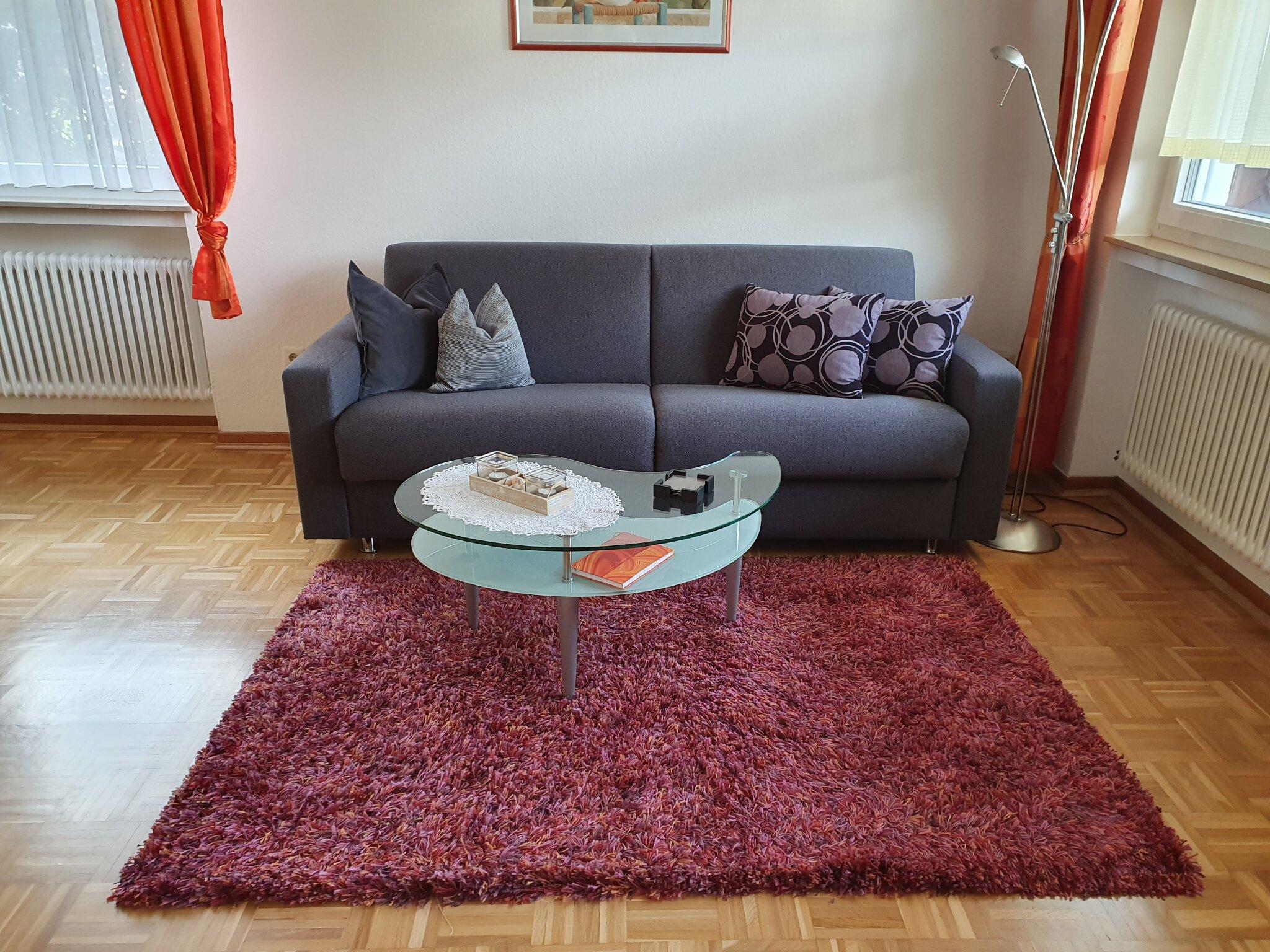 Flachbildschirm im Wohnzimmer