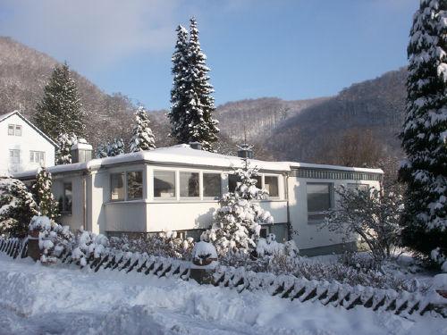 Ferienhaus Waldblick im Winter
