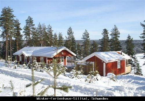 Ferienhaus-Silltal, Schweden (Winter)