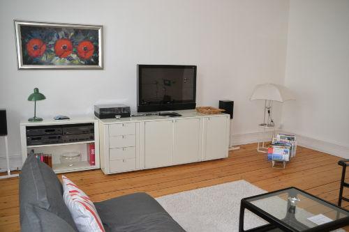 Hochwertige Ausstattung im Wohnzimmer