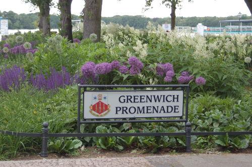 Spaziergang zur Greenwich-Promenade
