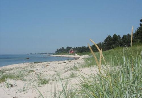Umgebung mit Strand