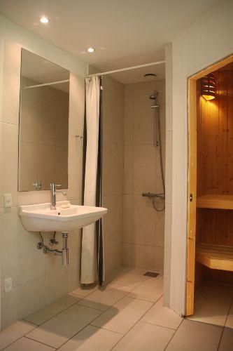 Dusche- & Saunabereich
