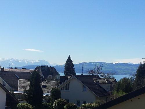 Sicht auf die österr. und schweizer Berg