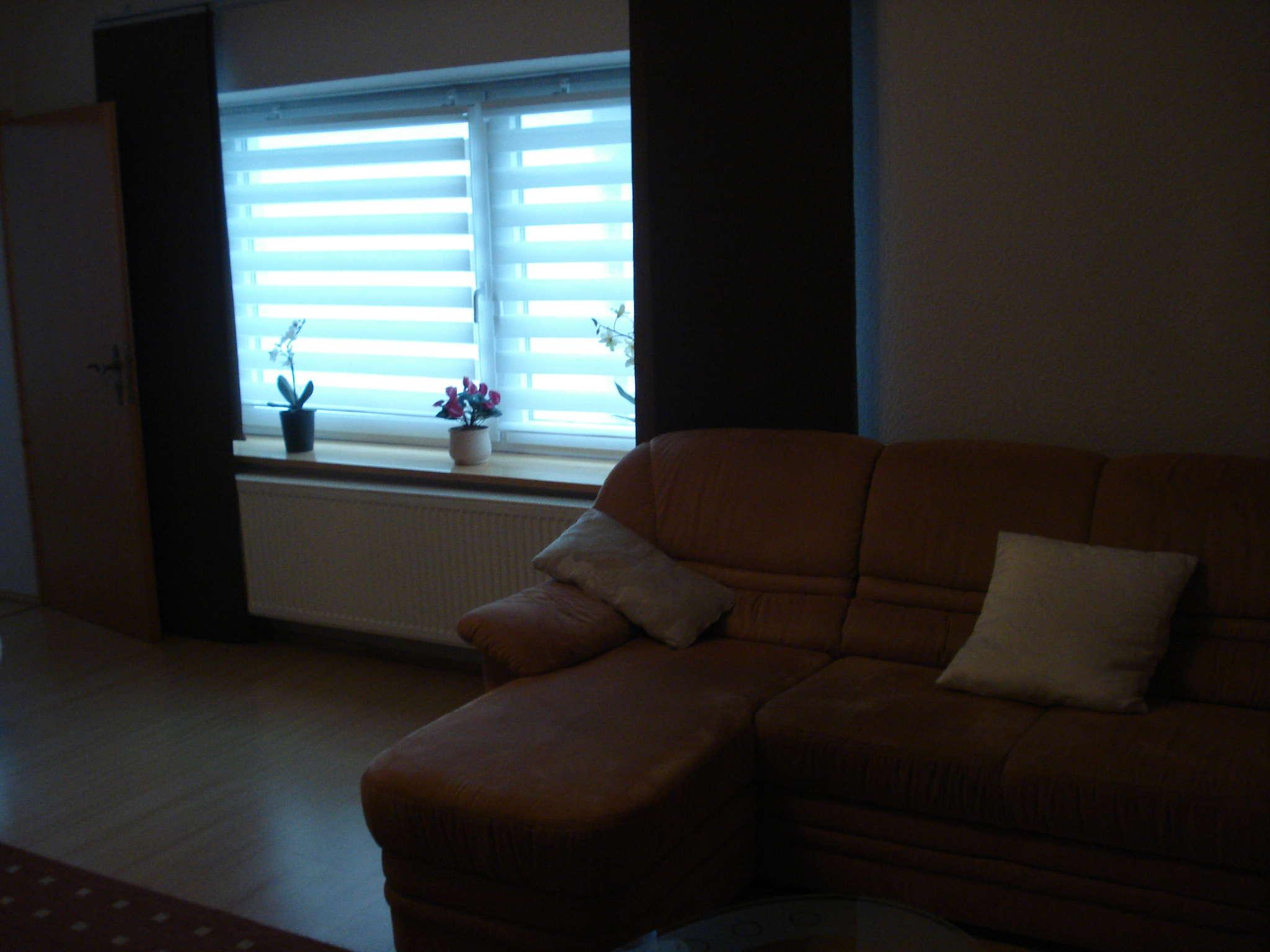 Wohnzimmer oben mit Bettcouch