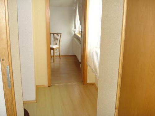Flur zwischen Wohnzimmer Schlafzimmer