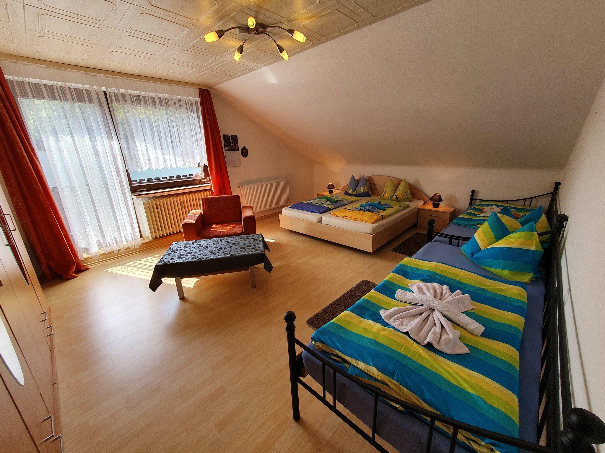 eins der 7 Schlafzimmer