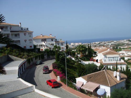 Blick vom Balkon Richtung Meer