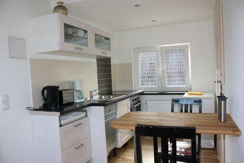 Die Küche- hell und modern