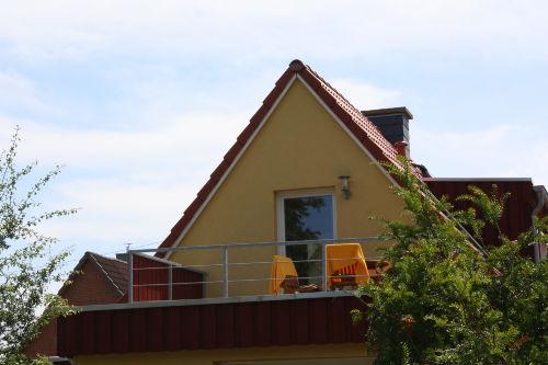 die Dachterrasse Lachmöwe