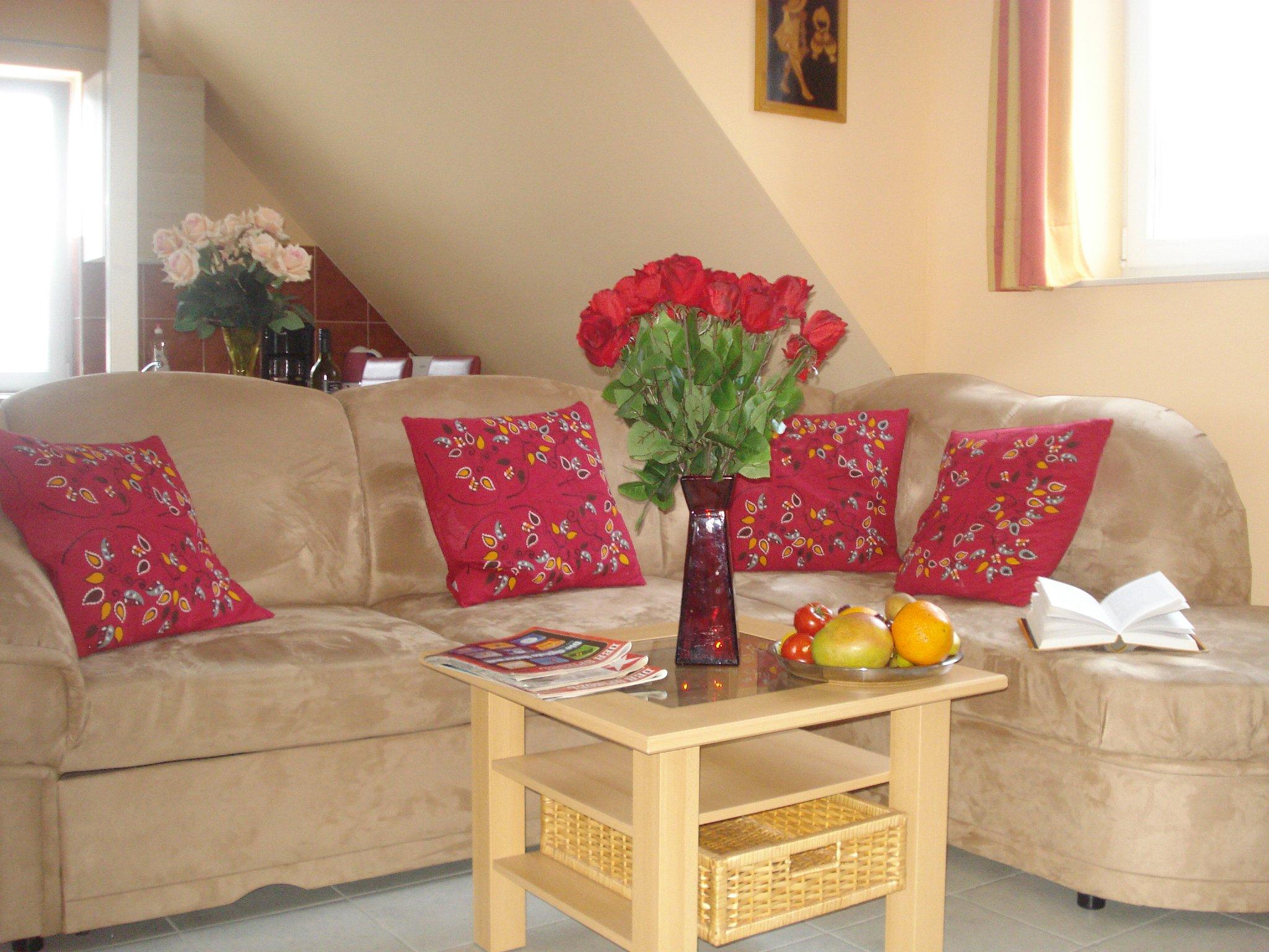 Riesiges Wohnzimmer und offene Küche