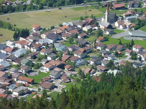 Unser Dorf von Nordosten aus gesehen