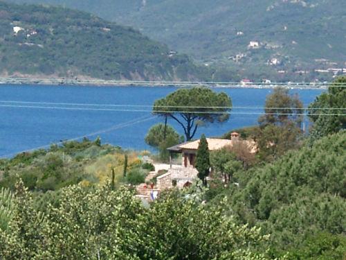 Blick auf die Villa Golfo Stella
