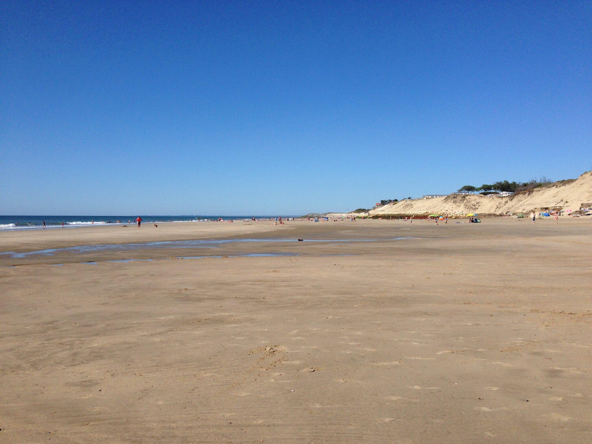 weiter Strand von Amélie-Plage