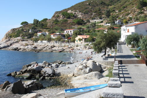Chiessi - die wunderschöne Bucht