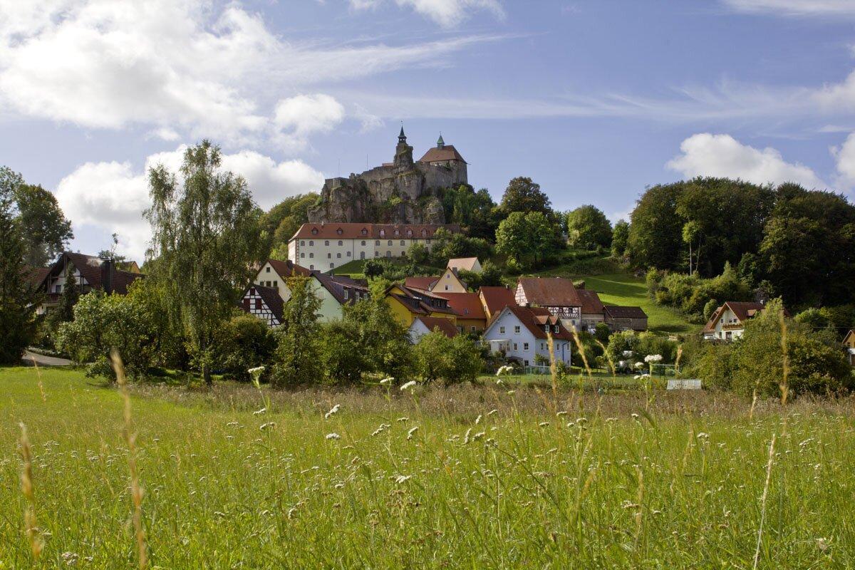 Die Burg Hohenstein