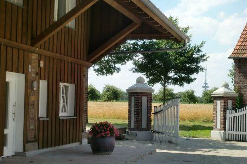 """Eingangsbereich Fewo """" Brunnen """""""