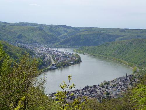 Rheinblick über Kamp-Bornhofen