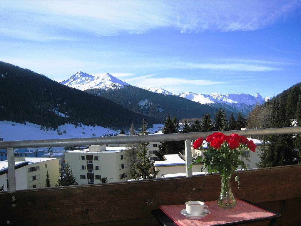 freier Blick vom Balkon