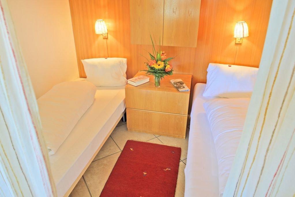 Alkoven mit zwei Einzelbetten