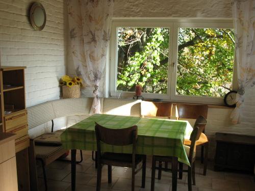 Essecke in der Wohnküche