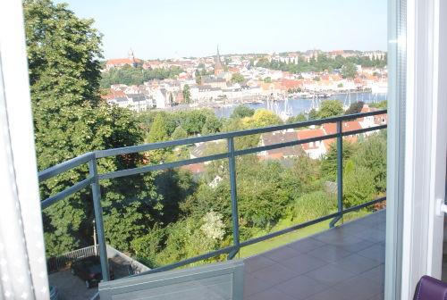 Toller Hafenblick vom Balkon im 3. OG