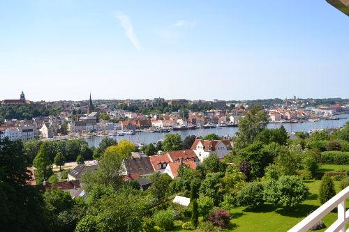 Herrlicher Panoramablick vom Balkon