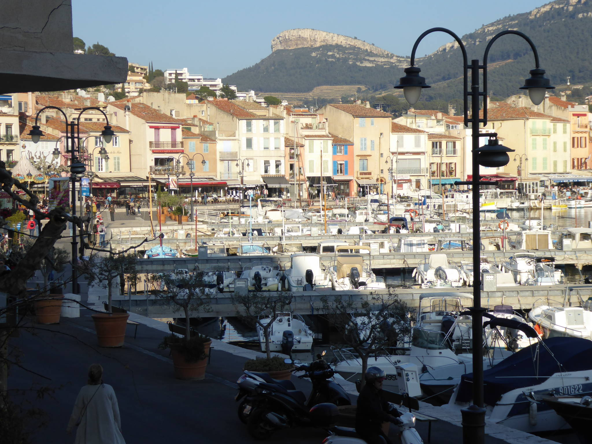 Gasse in Cassis