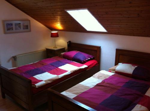 Schlafzimmer, Bett kann auch eins werden