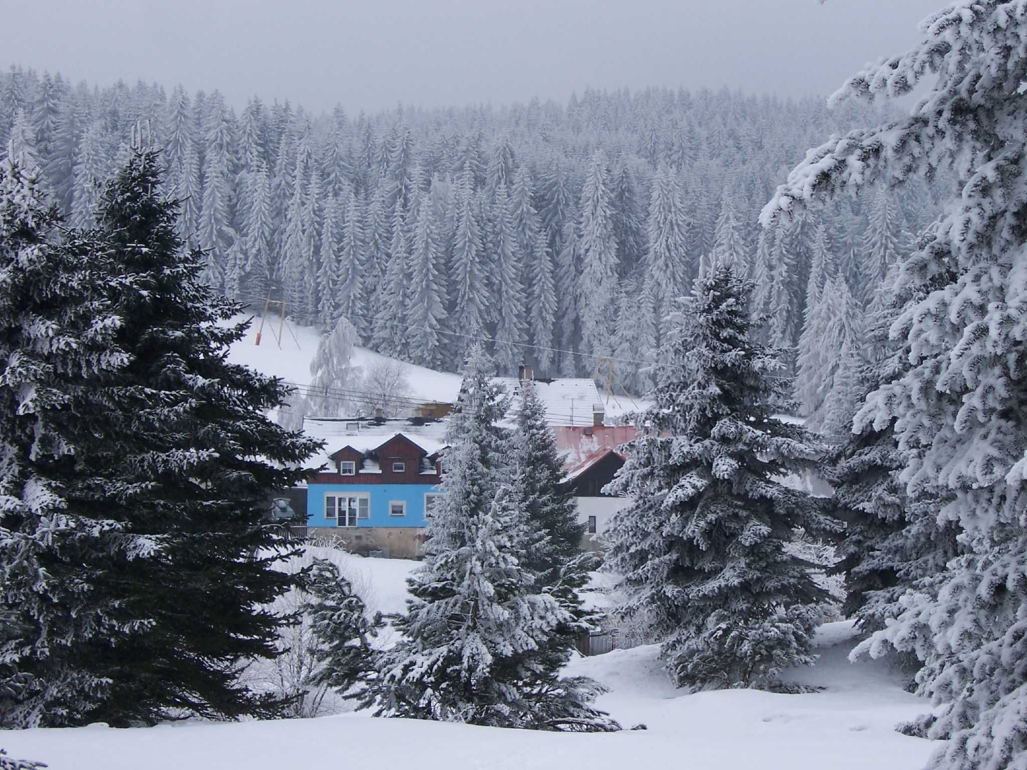 Detailbild von Blaue Haus in Pernink