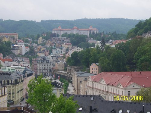Karlovy Vary (Karlsbad)...nur 20 km....
