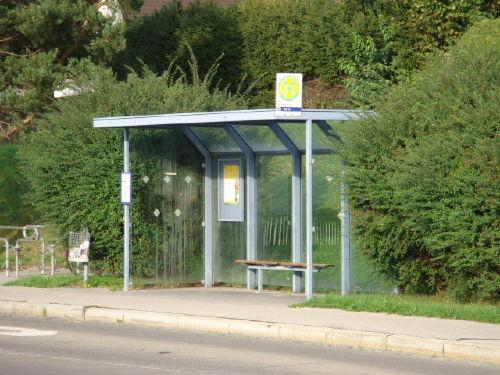 50 m zur Bushaltestelle