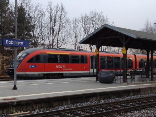 1600 m zum Bahnhof Bobingen