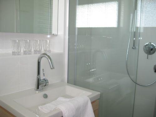 Duschbad mit gro�em Duschbereich...