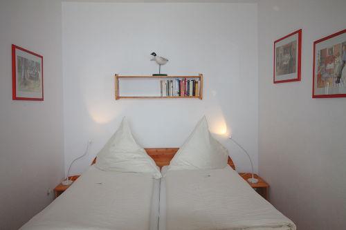 Schlafzimmer 2 mit Meerblick