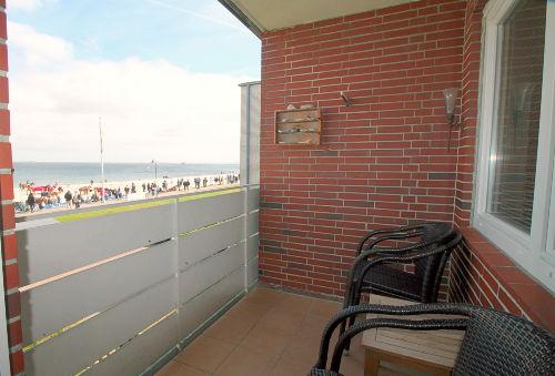 Balkon zur Meerseite