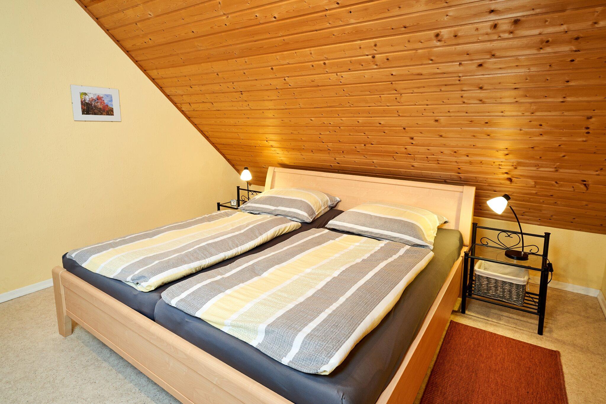 Fewo II, Doppelschlafzimmer