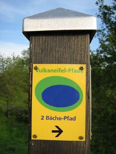 2-Bäche-Pfad, Partnerweg des Eifelsteig