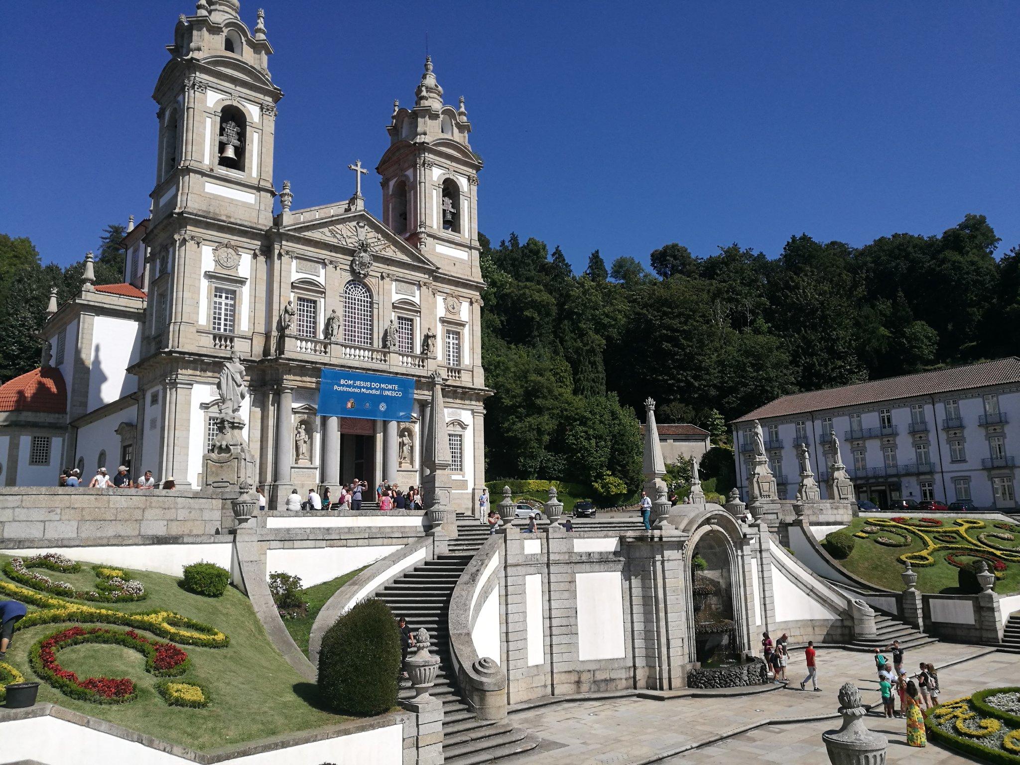 Braga, die Kirche Bom Jesus