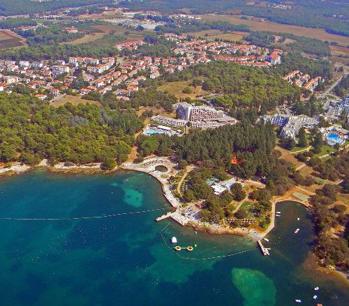 Strand- und Wohnumgebung Villa Symphonie