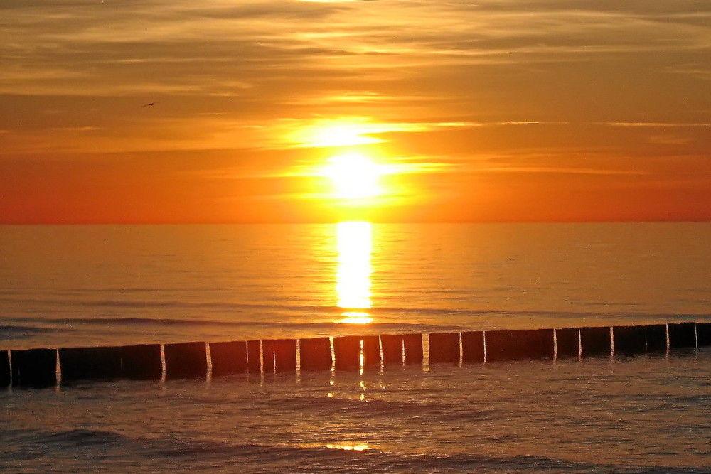 Sonnenuntergang in Zingst