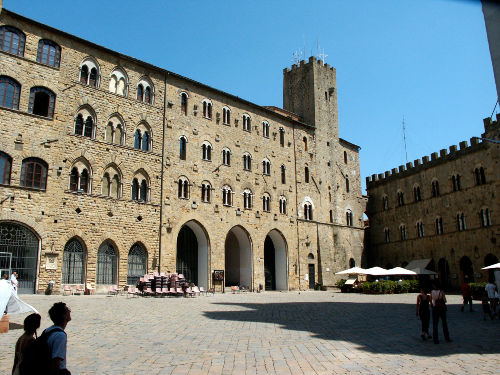 Volterra Stadtzentrum