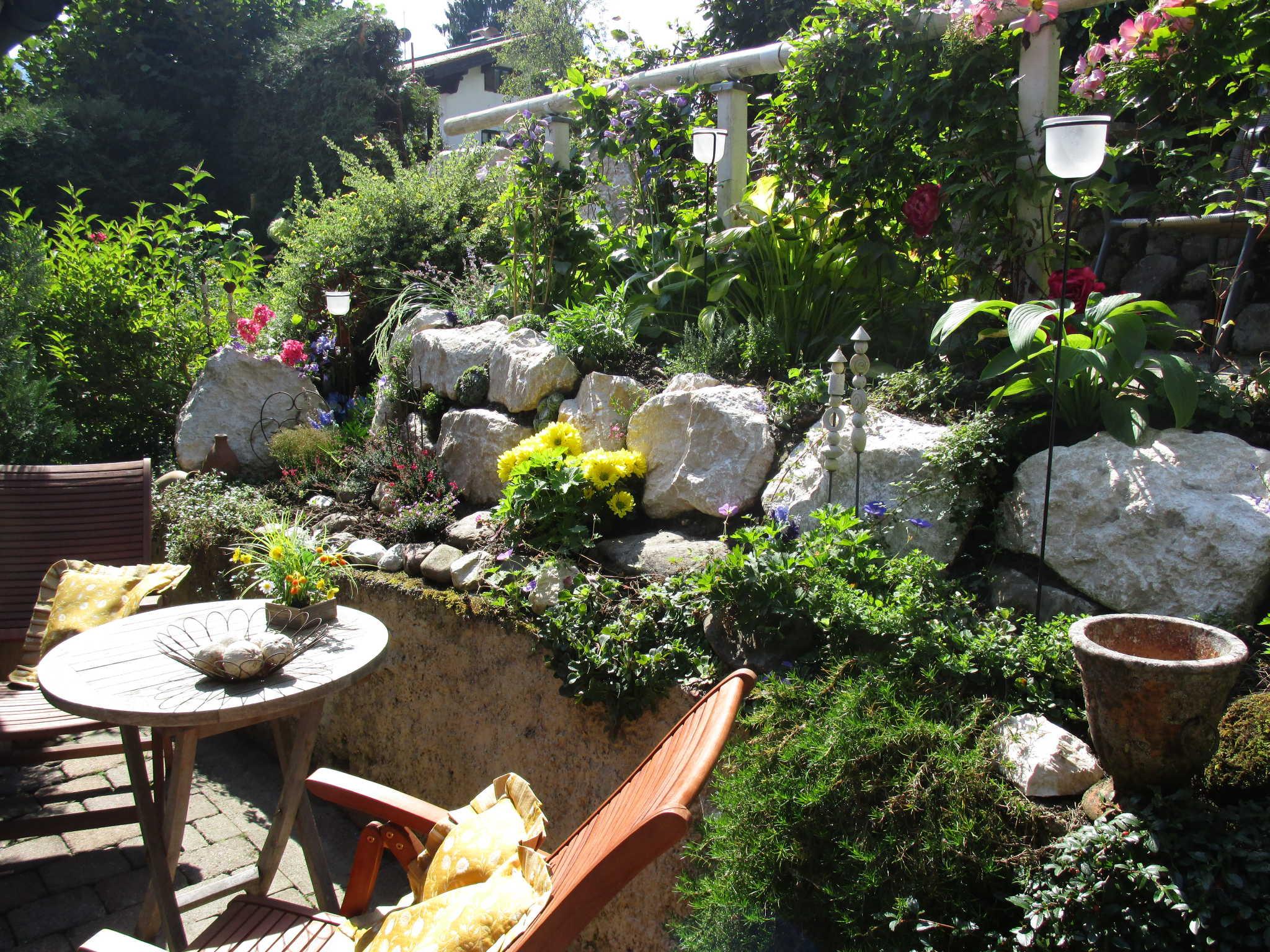 Whg.A Terrassen (keine Nachbarterrasse)
