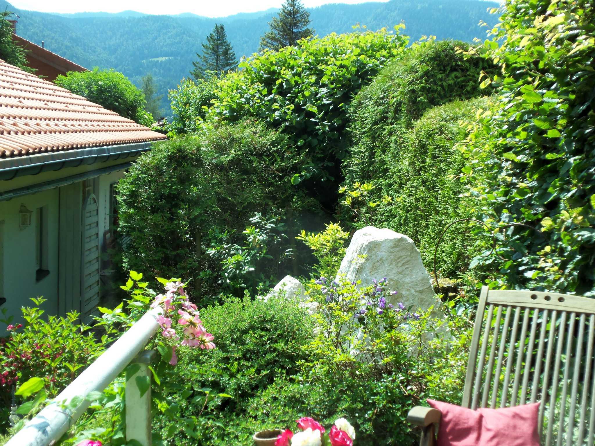 Landhaus Buchenhain,Teil des Gartens