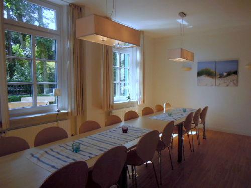 Der heimelige Gruppenraum/Speisesaal
