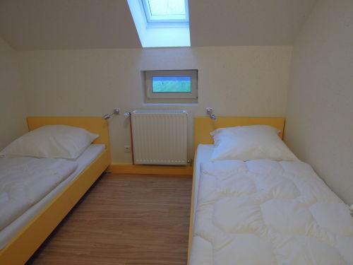 Schlafzimmer im OG für zwei Personen