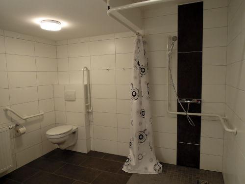 das behindertengerechte Duschbad