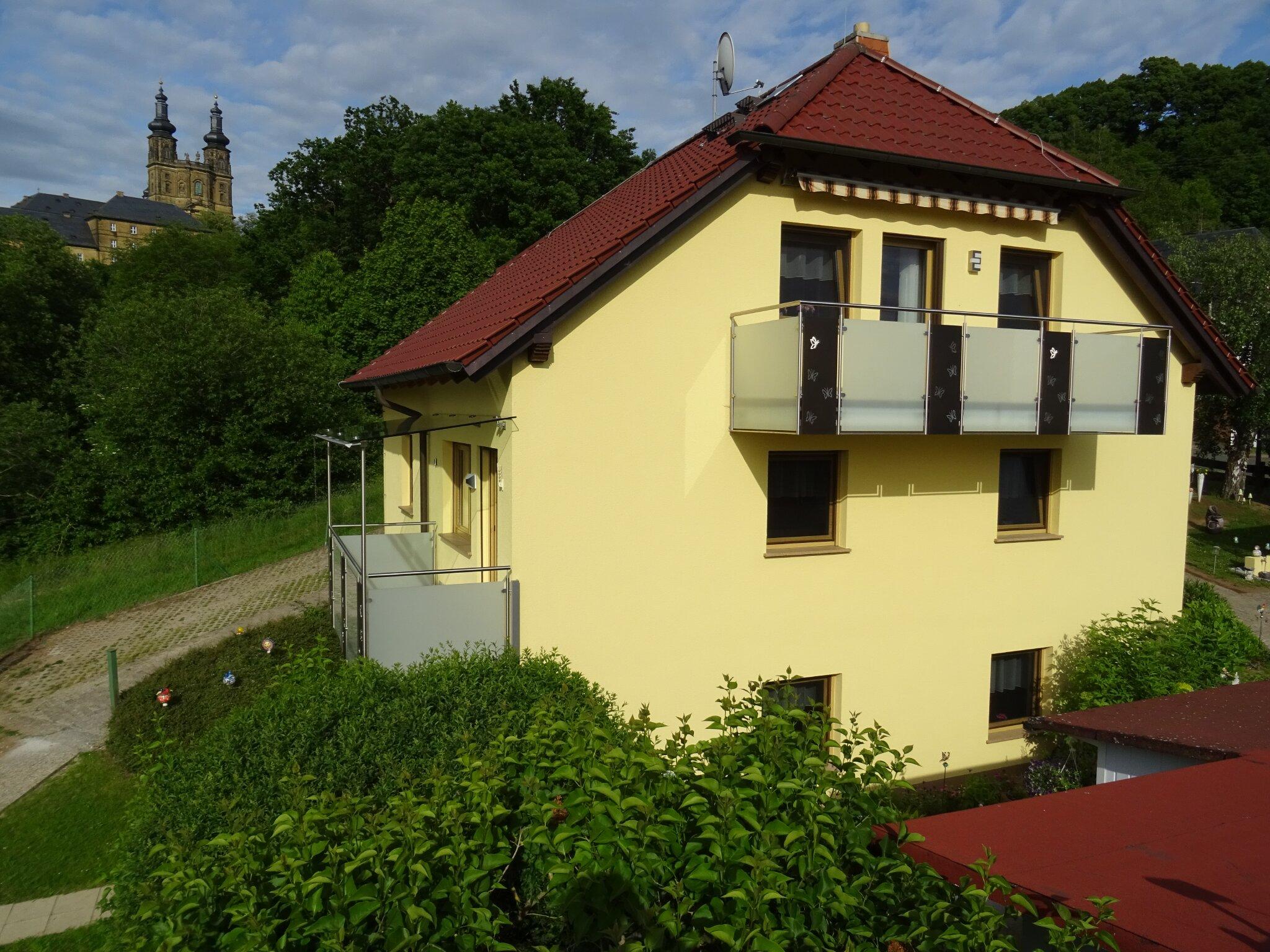 Blick auf Klosterbanz
