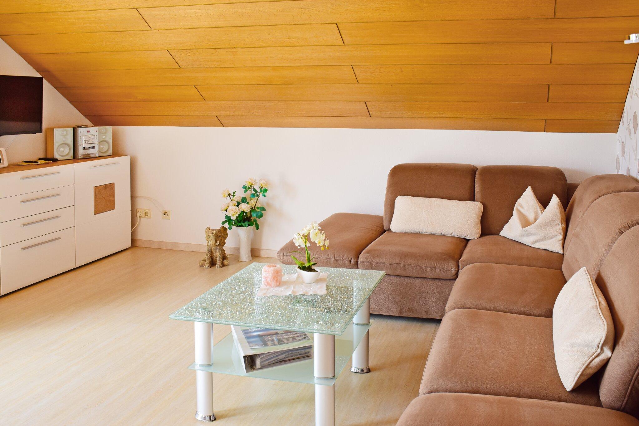 Wohnung 1 Sitzecke Wohnzimmer