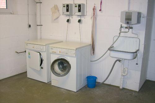 Waschk�che im Haus